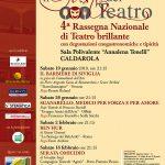"""Locandina """"Il Gusto del Teatro"""""""