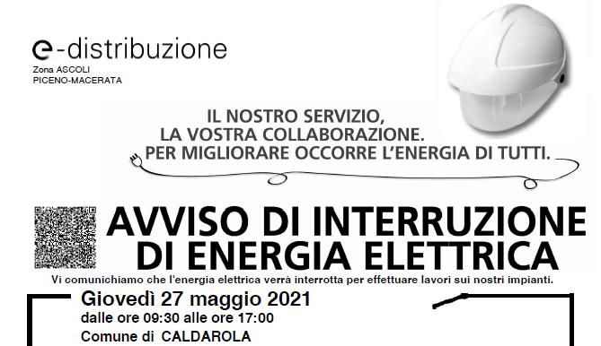 interruzione energia